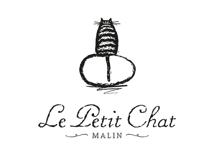 Chat en Oeuf Logo